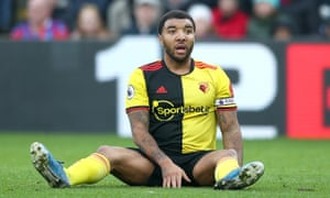 The Watford captain Troy Deeney had said he was not willing to train.