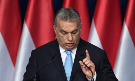 Viktor Orban delivers his state of the nation speech in Budapest on Sunday