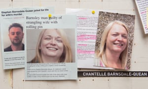 Cuttings from the Chantelle Barnsdale-Quean murder case.