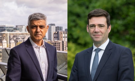 Sadiq Khan and Andy Burnham: 'It's time for Westminster to work with us.'
