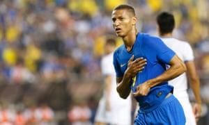 Richarlison enjoyed a spectacular start to international football life against El Salvador.