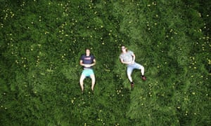 Self portrait with a drone