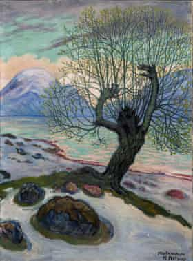 A Morning in March by Nikolai Astrup.