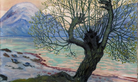 A Morning in March, c.1920 by Nikolai Astrup