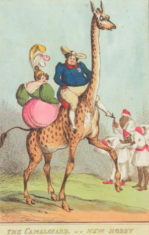 The Camelopard, or A New Hobby by satirist William Heath