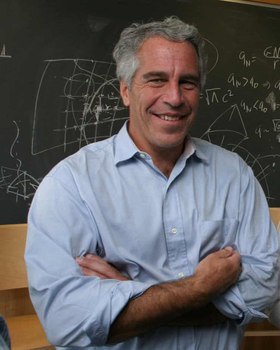 Though out of place, Jeffrey Epstein was known to surround himself with prominent scientists.
