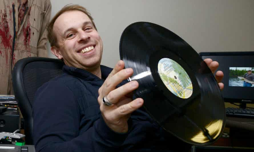 Sunrise Records owner Doug Putman, who has rescued the music retailer from administration.