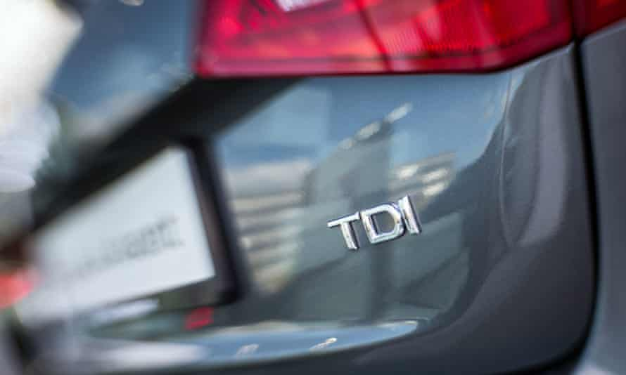 Audi diesel car