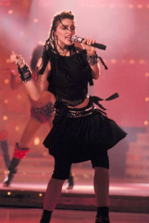 Madonna Performing Like A Virgin on Solid Gold 1983.