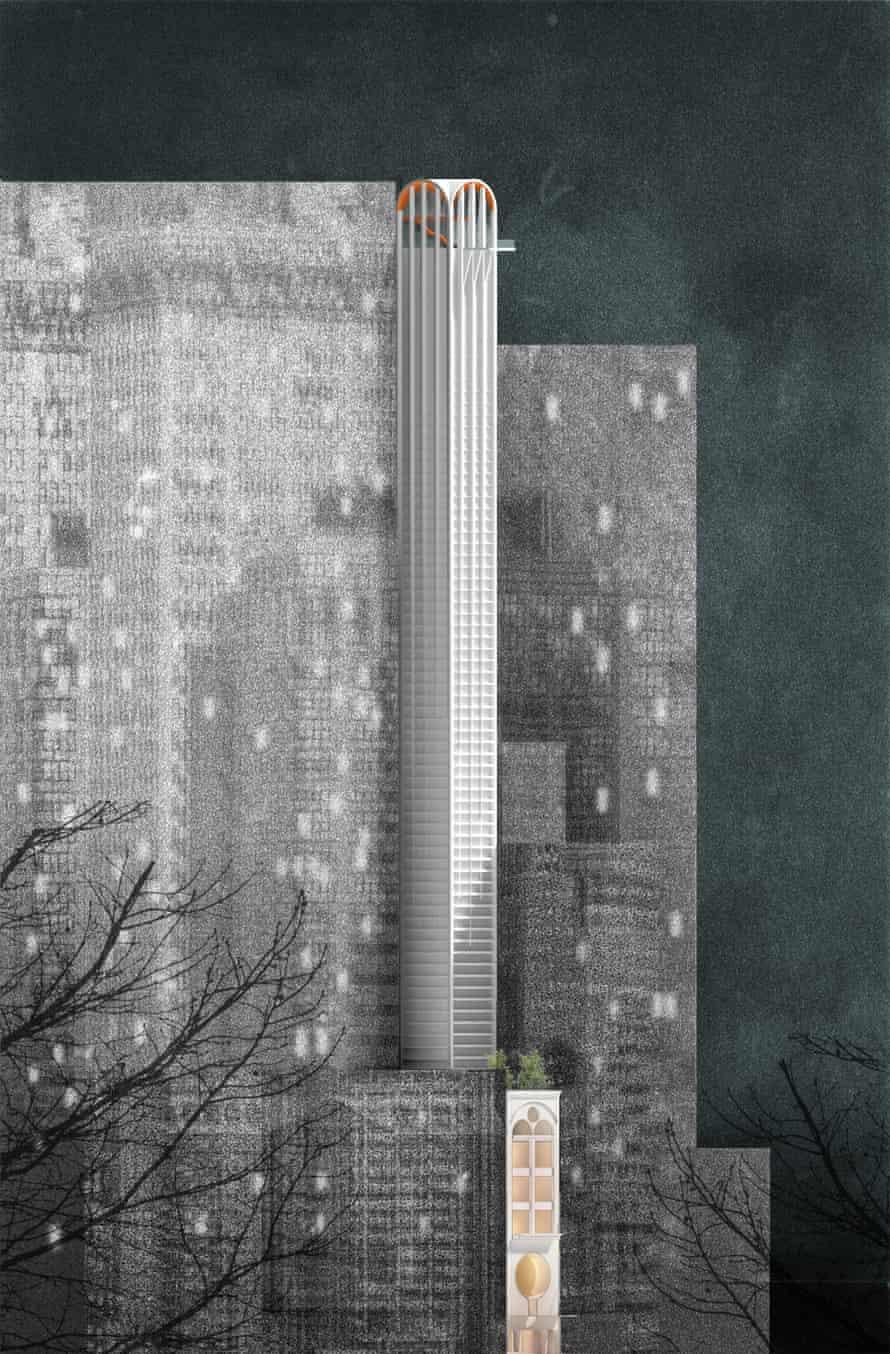 Skinny towers