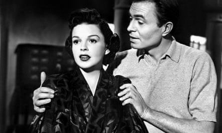 Judy Garland and James Mason in the 1954 A Star Is Born.