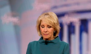 Betsy DeVos, the education secretary, is a firm proponent of school vouchers.