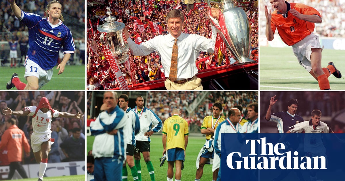 Nessun Dorma podcast: France 98 and Arsenals glorious Double winners