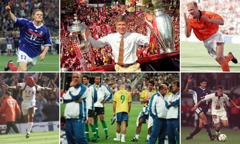 It was a big year for Emmanuel Petit, Arsène Wenger, Dennis Bergkamp, Michael Owen, Ronaldo and Ian Wright.