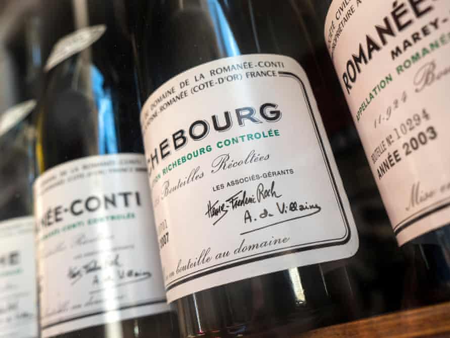 Richebourg Grand Cru Domaine Romanee-Conti burgundy