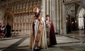 The Archbishop of York Dr John Sentamu  at the consecration of  the Rev Libby Lane at York Minster as Bishop of Stockport