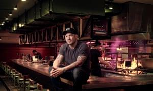 Chef Neil Rankin at his restaurant Temper in Soho, London
