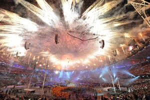 The closing ceremony of the London 2012 Games