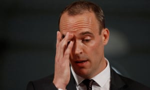 Brexit Minister Dominic Raab said he hoped cooler heads would prevail.