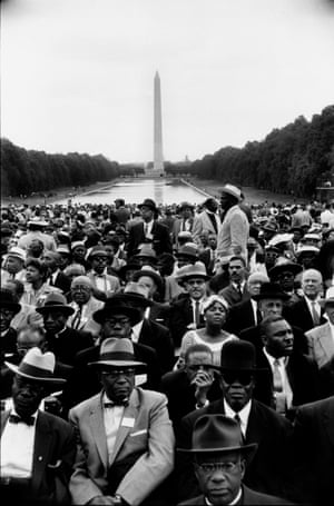 """Washington DC.,May 17th, 1957. Crowds at the reflecting pools by the Washington Monument for the Prayer Pilgrimage for Freedom led by Martin Luther King, Jr. """"Law and order exist for the purpose of establishing justice and when they fail in this purpose they become the dangerously structured dams that block the flow of social progress."""" -Dr Martin Luther King Jr., quoted by the Estate of Bob Henriques"""