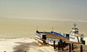 Lake Urmia, Iran.