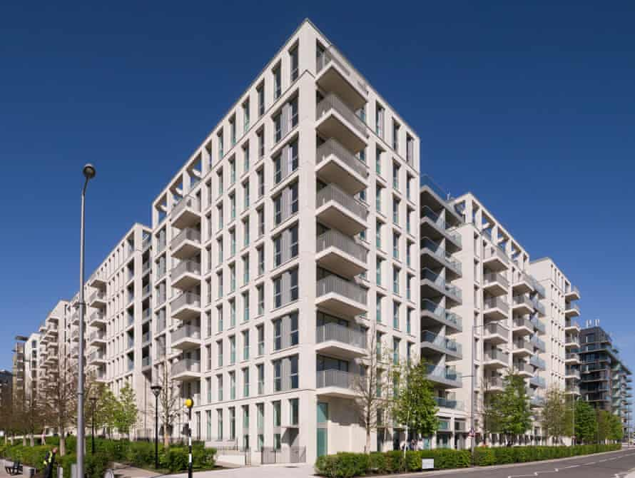East Village, the former London Olympic Athletes' Village. It was converted with 49% affordable housing, but targets for the Olympic Park have been reduced to 31%.