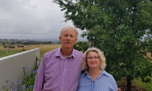 Charles and Melissa Tym of the Anyone But Nats group, which is targeting National party MPs