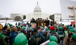 Activists participate in the Power Shift '09 rally on the West Lawn of the U.S. Capitol.