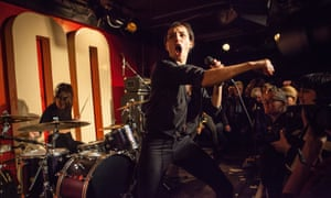 'Let's do this': Jehnny Beth fronts Savages at the 100 Club.
