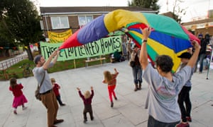 Focus E15 Mums, fight eviction and occupy flats on the Carpenters Estate.