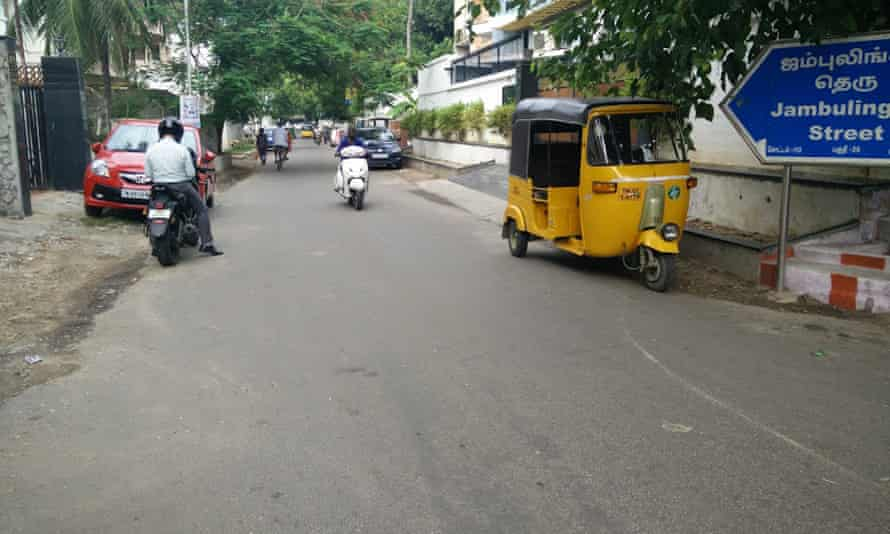 Jambulingam Street, Chennai, India.