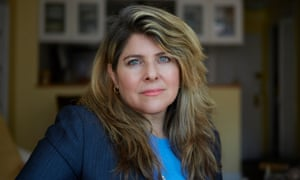 Naomi Wolf photographed in New York by Mike McGregor for the Observer New Review