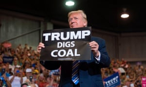 On Tuesday night Trump touted the country's status as the top producer of oil and gas and boasted about how he had cut environmental regulations.