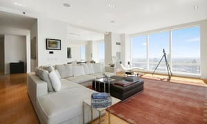 A photo from an online listing shows the condo bought by Qatar's UN mission for $6.5m in Trump World Tower.