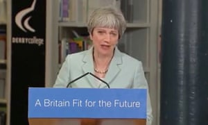 Maggie May … but my Theresa Thatcher fake looks bafflingly similar to Victoria Wood.