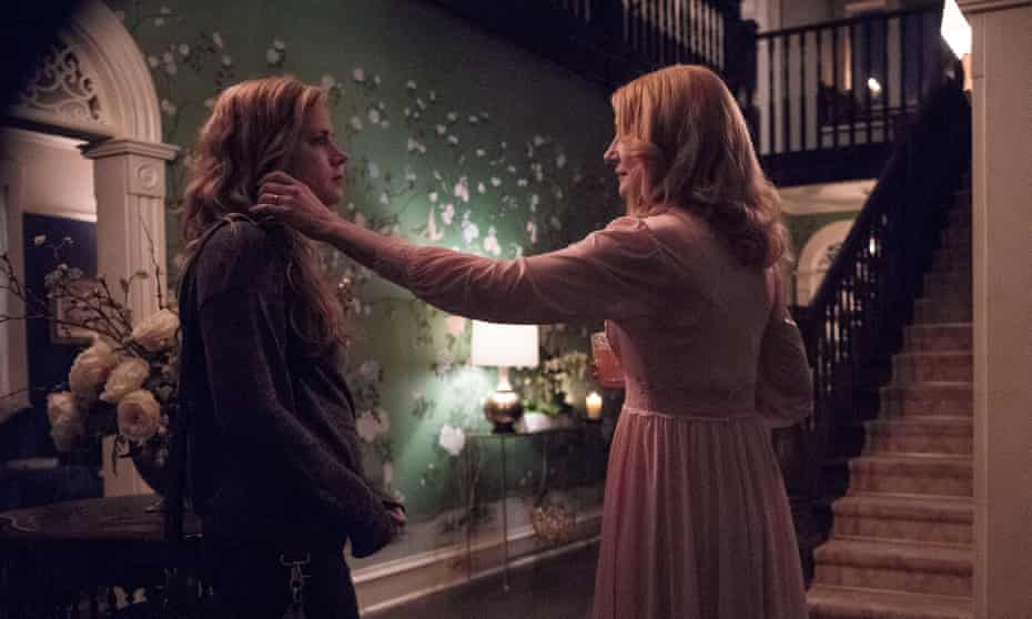 Amy Adams and Patricia Clarkson in Sharp Objects, adapted from Gillian Flynn's novel.