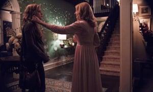 Amy Adams as Camille and Patricia Clarkson as Adora.