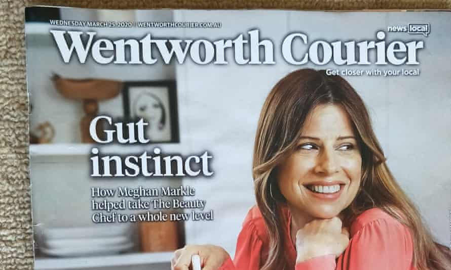 The 25 March edition of the Wentworth Courier, one of 60 News Corp community and regional newspapers that will suspend publishing due to loss of advertising revenue triggered by the coronavirus crisis.