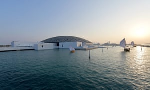 The Louvre Abu Dhabi, designed by Jean Nouvel, opened last year.