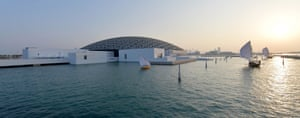 Cancellation … the Louvre Abu Dhabi, which was due to show the work.