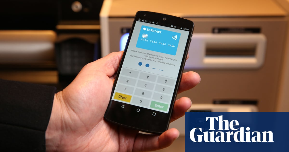 Barclays to unveil contactless cash withdrawals | Money | The Guardian