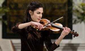American violinist Elicia Silverstein plays at Saint James, Clerkenwell, part of the Baroque at the Edge festival.