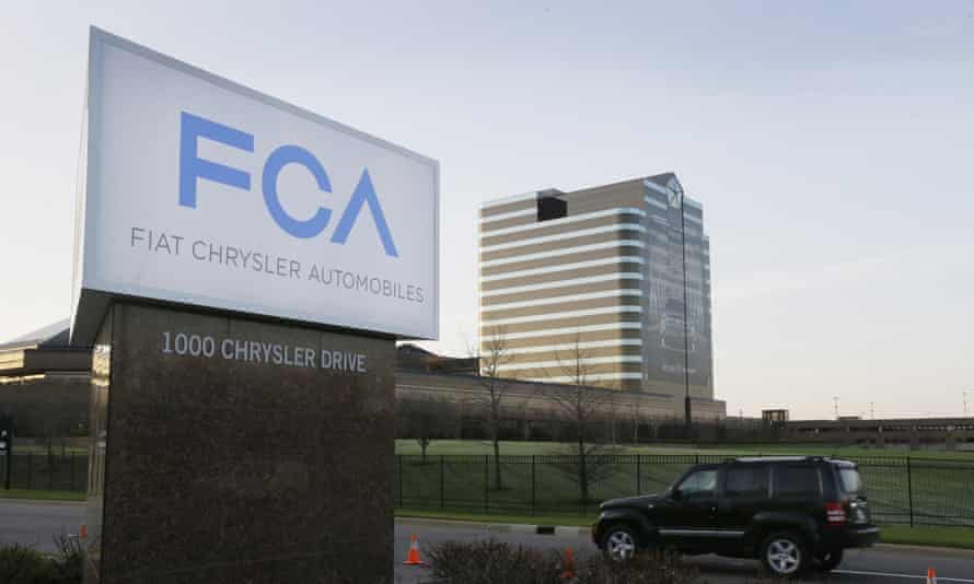 Fiat Chrysler headquarters in Auburn Hills, Michigan