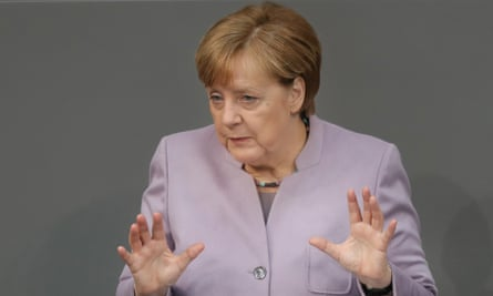 Angela Merkel outlines Germany's position on Brexit negotiations.