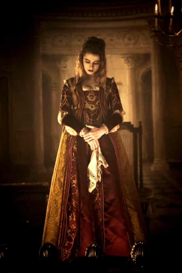 Jessie Buckley as Lorna Bow in the BBC One drama Taboo