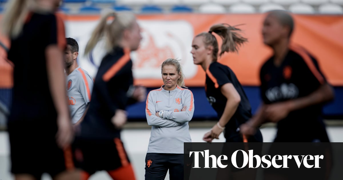 Power naps and big steaks: meet Sarina Wiegman, new England Women head coach