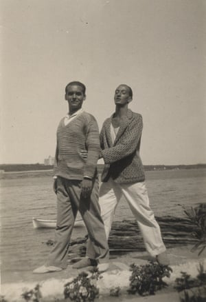 Federico García Lorca and Salvador Dalí in Cadaqués, 1927.