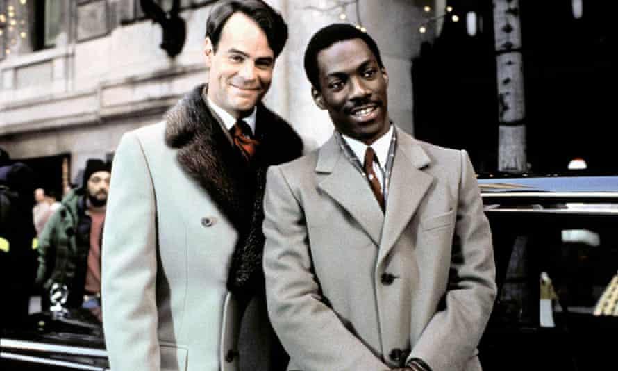 Trading places: Dan Aykroyd and Eddie Murphy in the 1983 film.