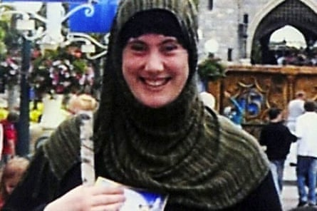 Samantha Lewthwaite in a photograph released by Interpol