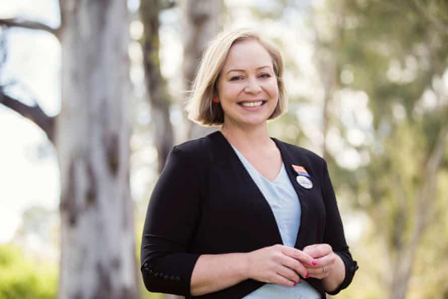 Independent candidate for Ovens Valley Tammy Atkins once worked as a media adviser for Sophie Mirabella before joining the National party